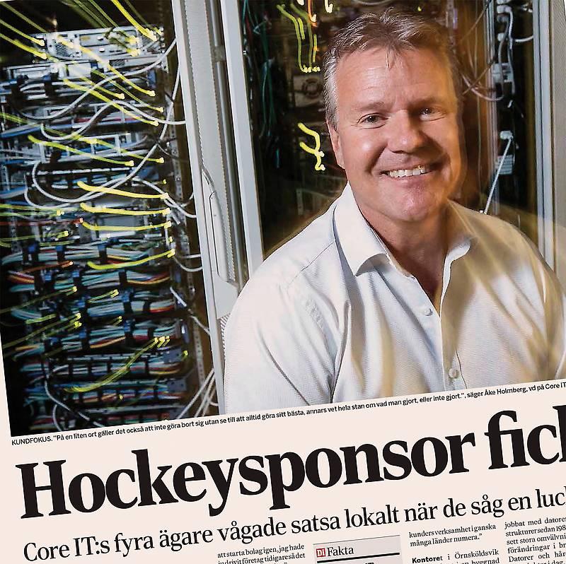 Dagens Industri Ake Holmberg