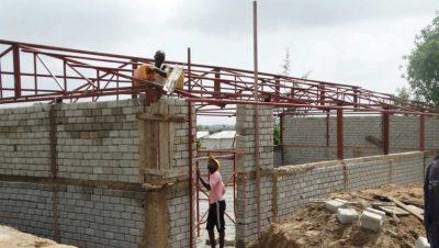 Skolprojekt i Jimba, Kenya