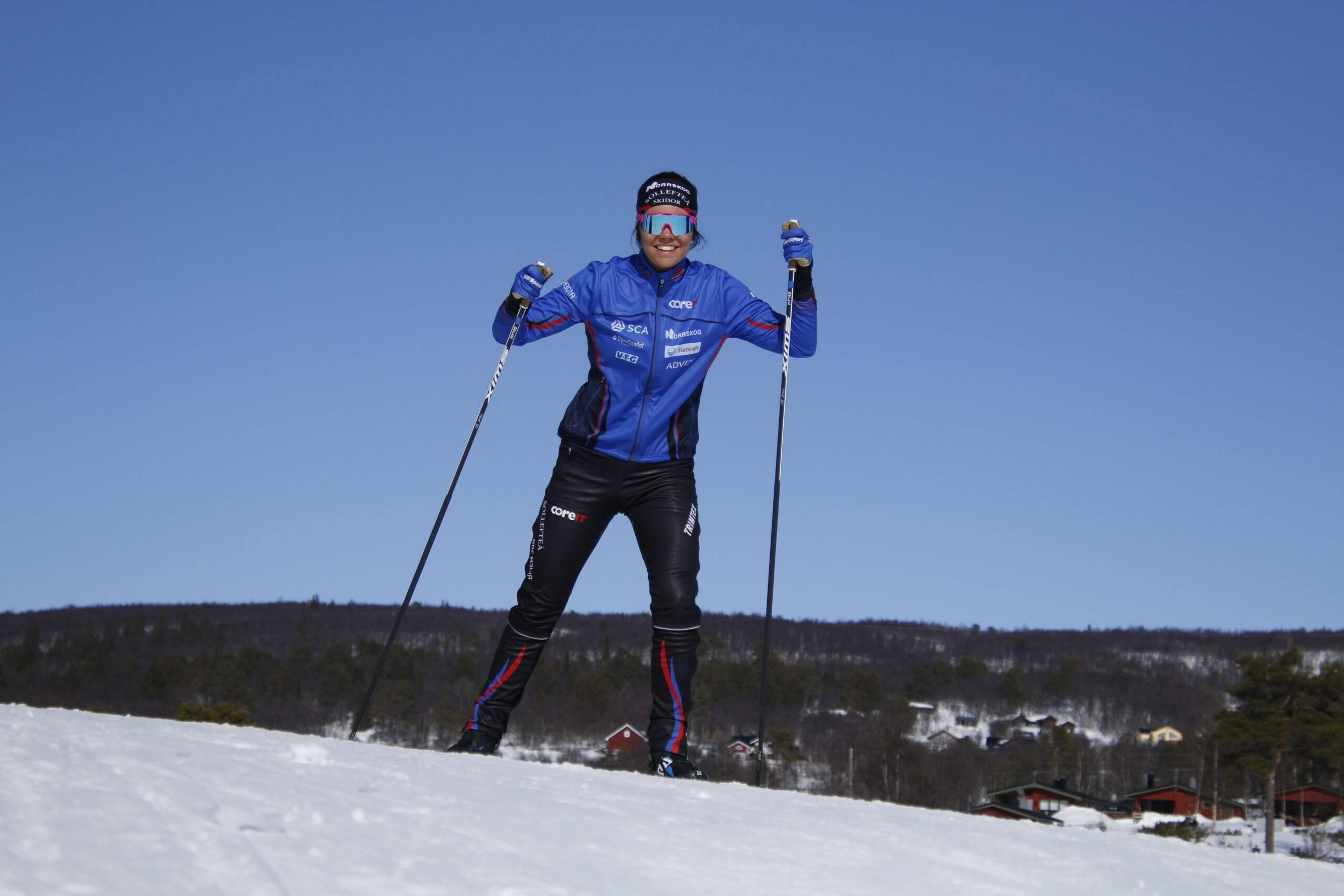 Jenny Solin Skidåkare
