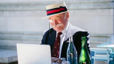 Digital lunch - ny service för riskgrupper